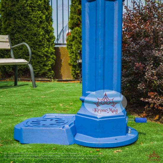 Street Aluminum Drinking Fountain DURBAN 3P