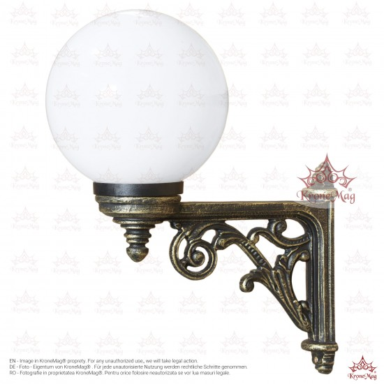 Outdoor Wall Mounted Lantern TA-101.GLOBE 200
