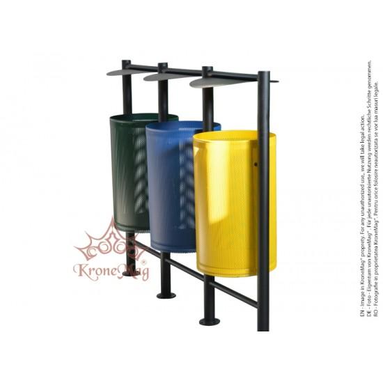 Outdoor Recycling Bin URBAN REC.33.L