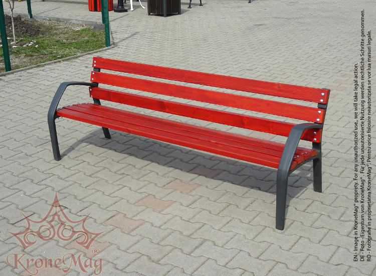 Cast Iron Garden Bench COPENHAGA FR