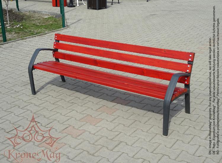 Cast Iron Park Bench Copenhaga Fr