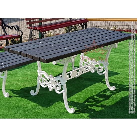 Cast Iron Garden Table LYON.M