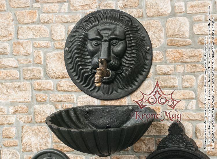 Cast Iron Garden Wall Fountain 610
