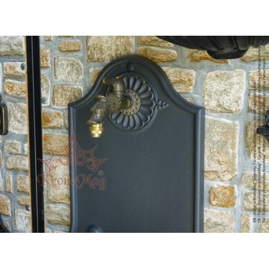 Cast Iron Garden Wall Fountain 611