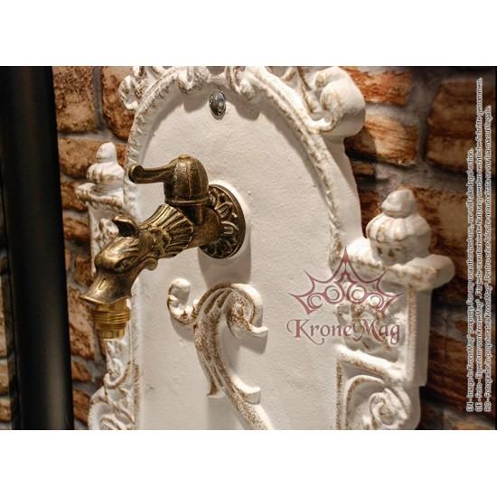 Cast Iron Garden Wall Fountain 608