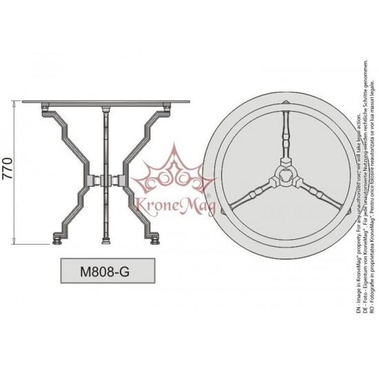 Cast Iron Table Base M808-G