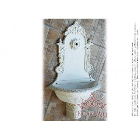 Cast Aluminum Garden Wall Fountain TIRONA-M