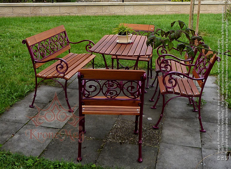 MALAGA 4FB Outdoor Garden Furniture Set