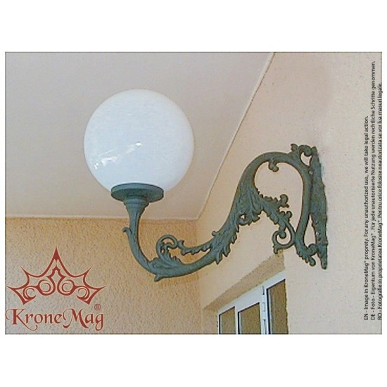 Outdoor Wall Mounted Lantern ME530-GLOBE400