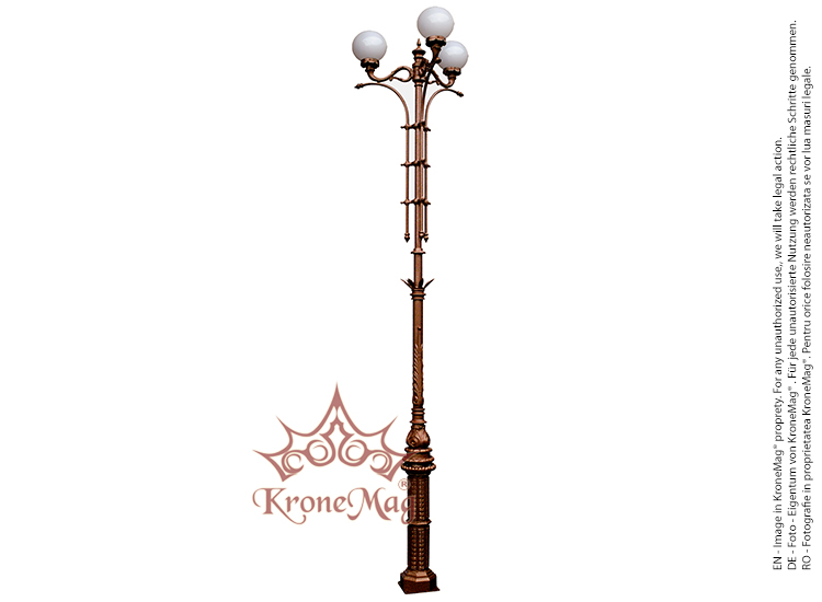 Decorative cast aluminum lighting post flr 2 mozeypictures Images