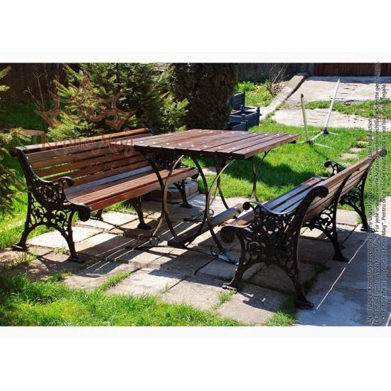 Garden Bench Set PRAGA