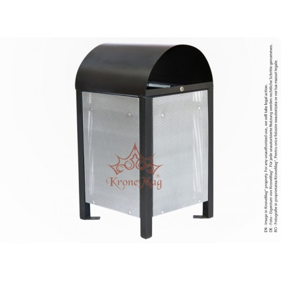Litter Bin with Cover URBAN 9C.P