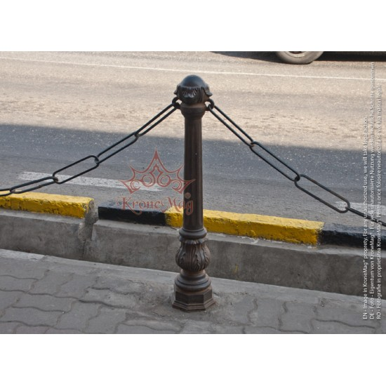 Street Cast Iron Bollard For Chain 908